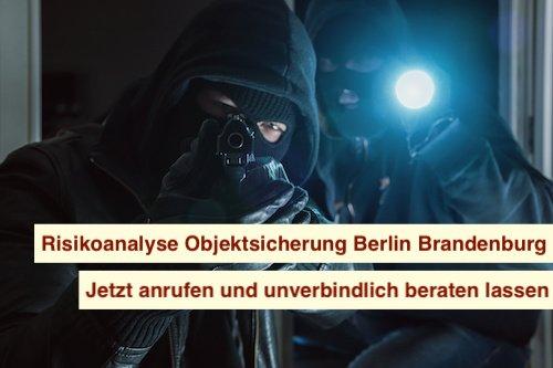 Risikoanalyse Objektsicherung Berlin Brandenburg
