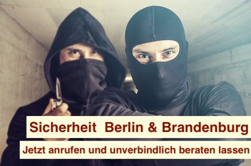 Sicherheit  Berlin & Brandenburg